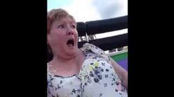 Si vous avez en horreur les montagnes russes, vous comprendrez la réaction de cette grand-mère!