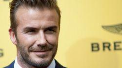 David Beckham élu l'homme le plus sexy selon
