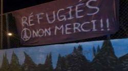 Des banderoles anti-réfugiés au Québec