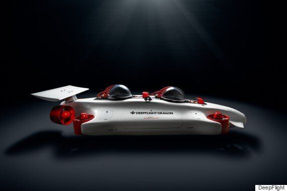 Le Dragon est un sous-marin personnel aussi facile à piloter qu'un drone