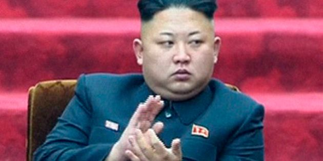FILE - In this April 9, 2014 file image made from video, North Korean leader Kim Jong Un applauds during...
