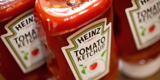 CHICAGO, IL - MARCH 25: In this photo illustration, Heinz Tomato Ketchup is shown on March 25, 2015 in...