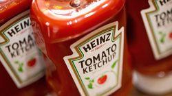 Le ketchup Heinz, pas du