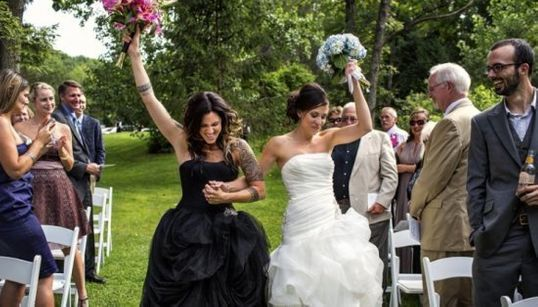 22 photos éblouissantes de mariages homosexuels remplies d'amour et de