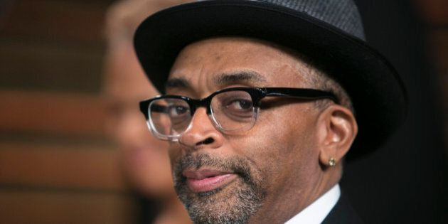 Spike Lee arrives to the 2014 Vanity Fair Oscar Party on March 2, 2014 in West Hollywood, California....