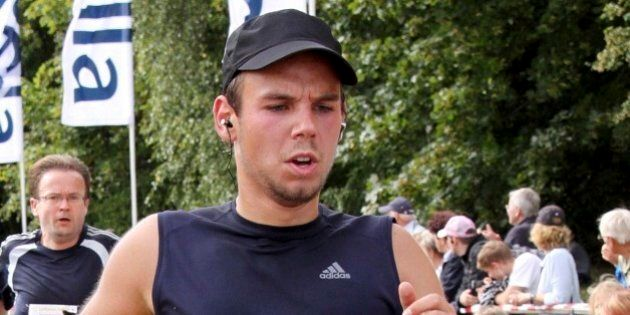 FILE - In this Sunday, Sept. 13, 2009 photo Andreas Lubitz competes at the Airportrun in Hamburg, northern...