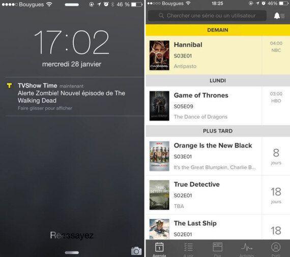 TVShow Time, l'application qui change la façon de regarder les séries télé