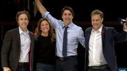 Trudeau encourage les jeunes à devenir des leaders