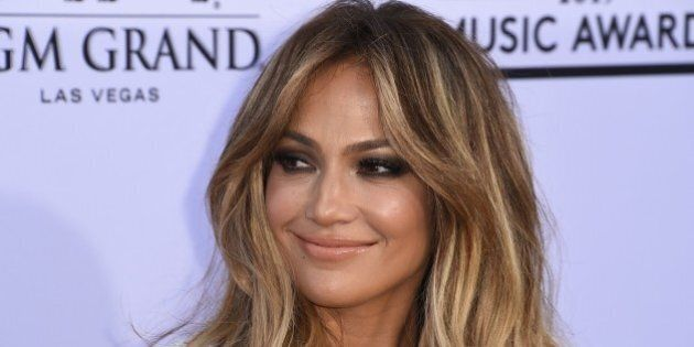 Jennifer Lopez attends the 2015 Billboard Music Awards, May 17, 2015, at the MGM Grand Garden Arena in...