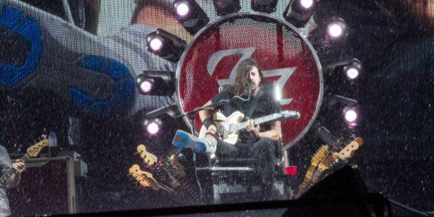 Foo Fighters au FEQ 2015: un illustrateur du Soleil fait réagir la