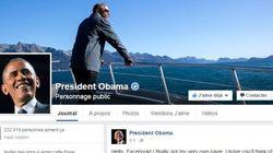 Barack Obama lance sa propre page