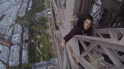 Il a escaladé la Tour Eiffel à mains nues et sans sécurité