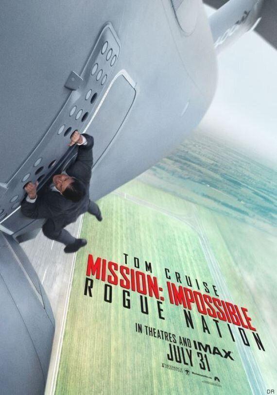 Pour «Mission impossible: Rogue Nation», Tom Cruise sur une aile d'avion en plein décollage