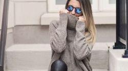 Les leggings en faux cuir font fureur