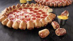 Vous hésitez entre pizza et hot dogs? Pizza Hut a la solution pour