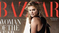 Kate Upton nommée femme de l'année par Harper's Bazaar