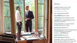Non, Obama n'a pas été surpris un paquet de cigarettes à la