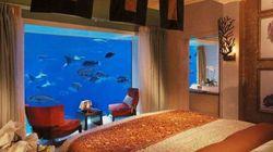 L'incroyable suite sous-marine d'un hôtel de Dubaï