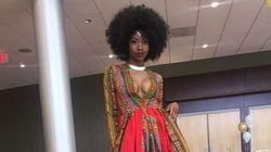 Cette élève a réalisé elle-même sa (magnifique) robe pour son bal des