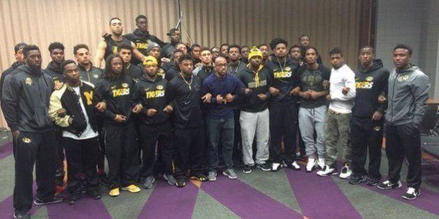 Université du Missouri : des joueurs noirs d'une équipe en