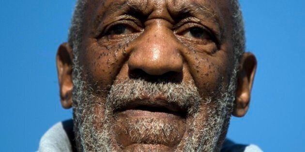 FILE - In this Nov. 11, 2014, file photo, comedian and Navy veteran Bill Cosby speaks during a Veterans...