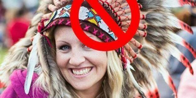 Les coiffes amérindiennes traditionnelles sont désormais interdites à