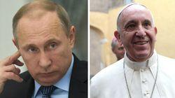 Poutine cherche l'oreille du Vatican après les menaces du