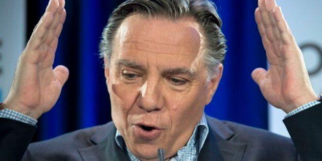 Offres salariales: Philippe Couillard fait reculer le Québec, selon François