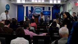 Maison Blanche: évacuation de la salle de