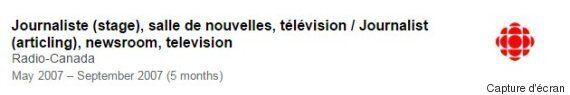 En 2007, Mélanie Joly était stagiaire à Radio-Canada