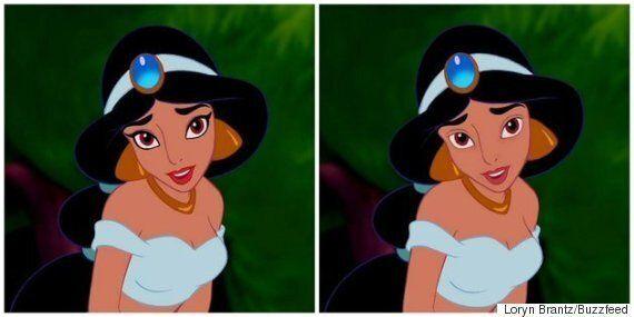 Voyez les princesses de Disney imaginées sans maquillage