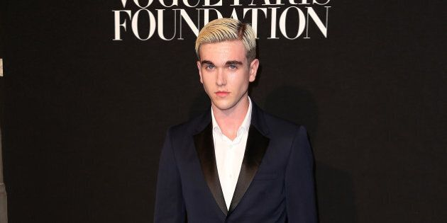 PARIS, FRANCE - JULY 06: Gabriel-Kane Day-Lewis attends the Vogue Paris Foundation Gala at Palais Galliera on July 6, 2015 in Paris, France. (Photo by Pierre Suu/WireImage)