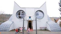 Cette école en forme de chat vous fera retomber en enfance