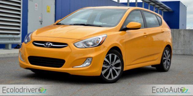Essai routier Hyundai Accent 2015: attention au prix