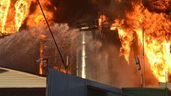 Gigantesque incendie mortel dans un dépôt pétrolier en Ukraine
