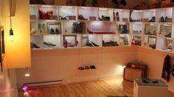 Des chaussures en souvenir au musée de la femme de Longueuil