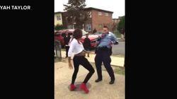 Obama ravi par la vidéo d'une ado noire dansant avec une policière blanche