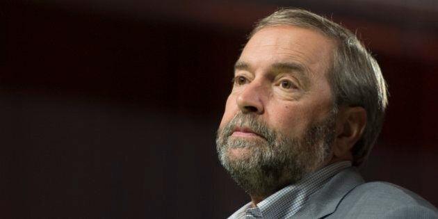 Élections fédérales 2015: Thomas Mulcair va créer un comité pour tirer des leçons de sa