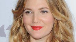 Drew Barrymore sans maquillage pour ses 40