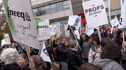 Front commun: perturbations des services public à Laval et à Montréal