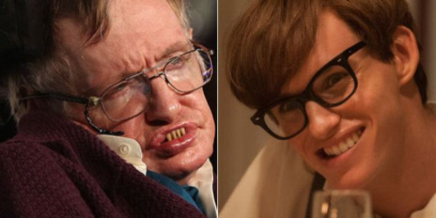 «Bien joué Eddie»: Stephen Hawking félicite Eddie Redmayne pour son