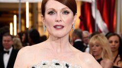 Oscars: la robe Chanel de Julianne Moore réalisée sur mesure par Karl