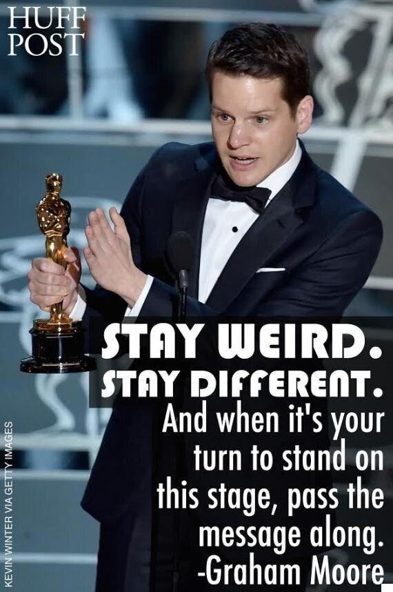 Oscars 2015: le scénariste de «The Imitation Game» Graham Moore prononce le discours le plus émouvant...