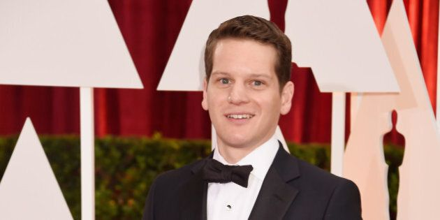 HOLLYWOOD, CA - FEBRUARY 22: Screenwriter Graham Moore attends the 87th Annual Academy Awards at Hollywood...