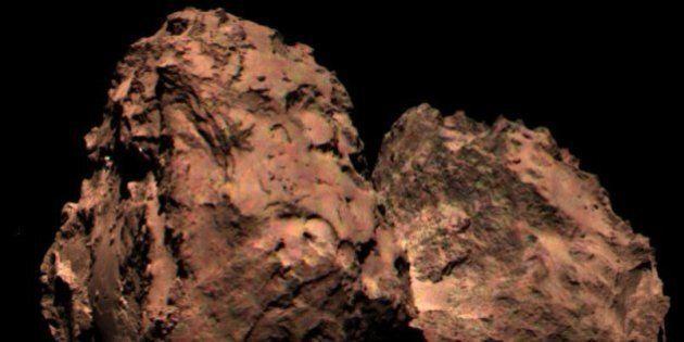 Surprise: de l'oxygène dans l'atmosphère de la comète