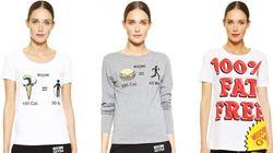 Moschino sème la controverse avec des t-shirts humiliants