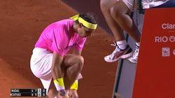 Nadal enlève son short en plein match et affole le stade