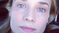 Diane Kruger sans maquillage sur