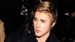 Justin Bieber reçoit des oeufs pour son