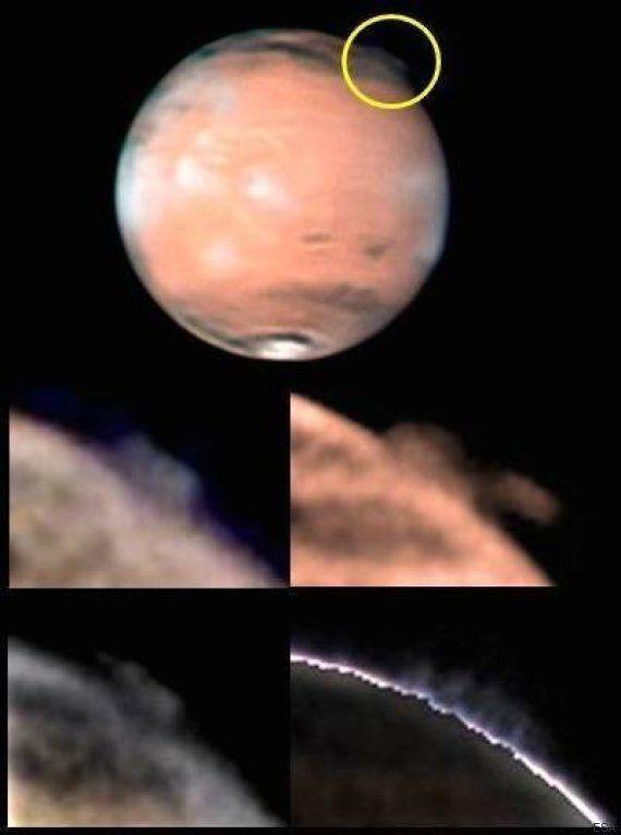 Mars: de mystérieuses fumées intriguent les